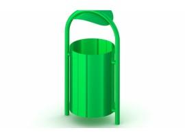 Kôš na odpadky kovový