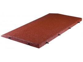 Okraj gumovej podlahy SBR - 4,5cm